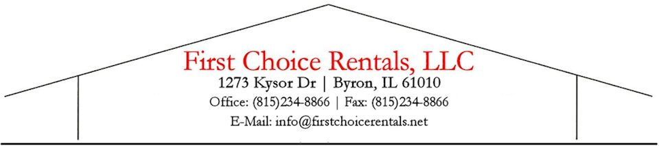 First Choice Rentals, LLC